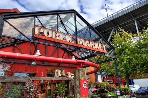 Granville Island - market, theatre, restaurants